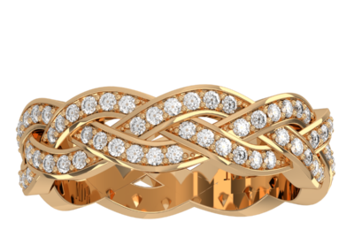 Wedding Band 8 – Yellow Gold