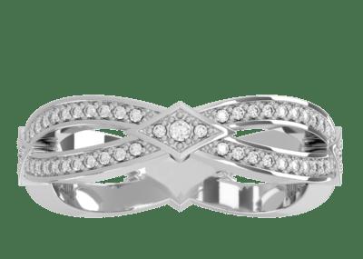 Wedding Band 7 – White Gold