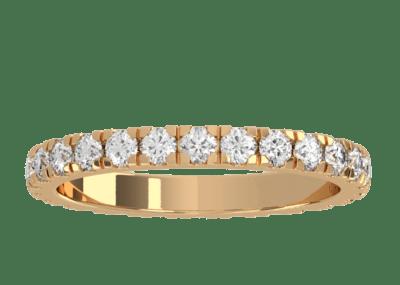 Wedding Band 2 – Yellow Gold