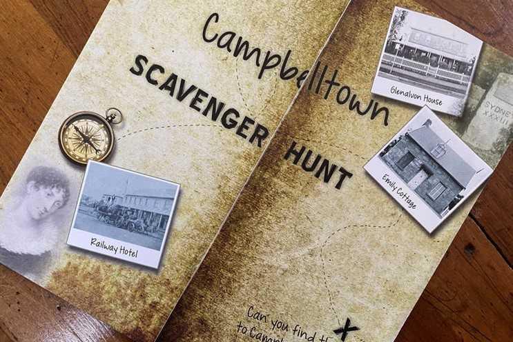 Complete a Campbelltown Scavenger Hunt