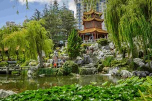Relax at the Chinese Garden of Friendship