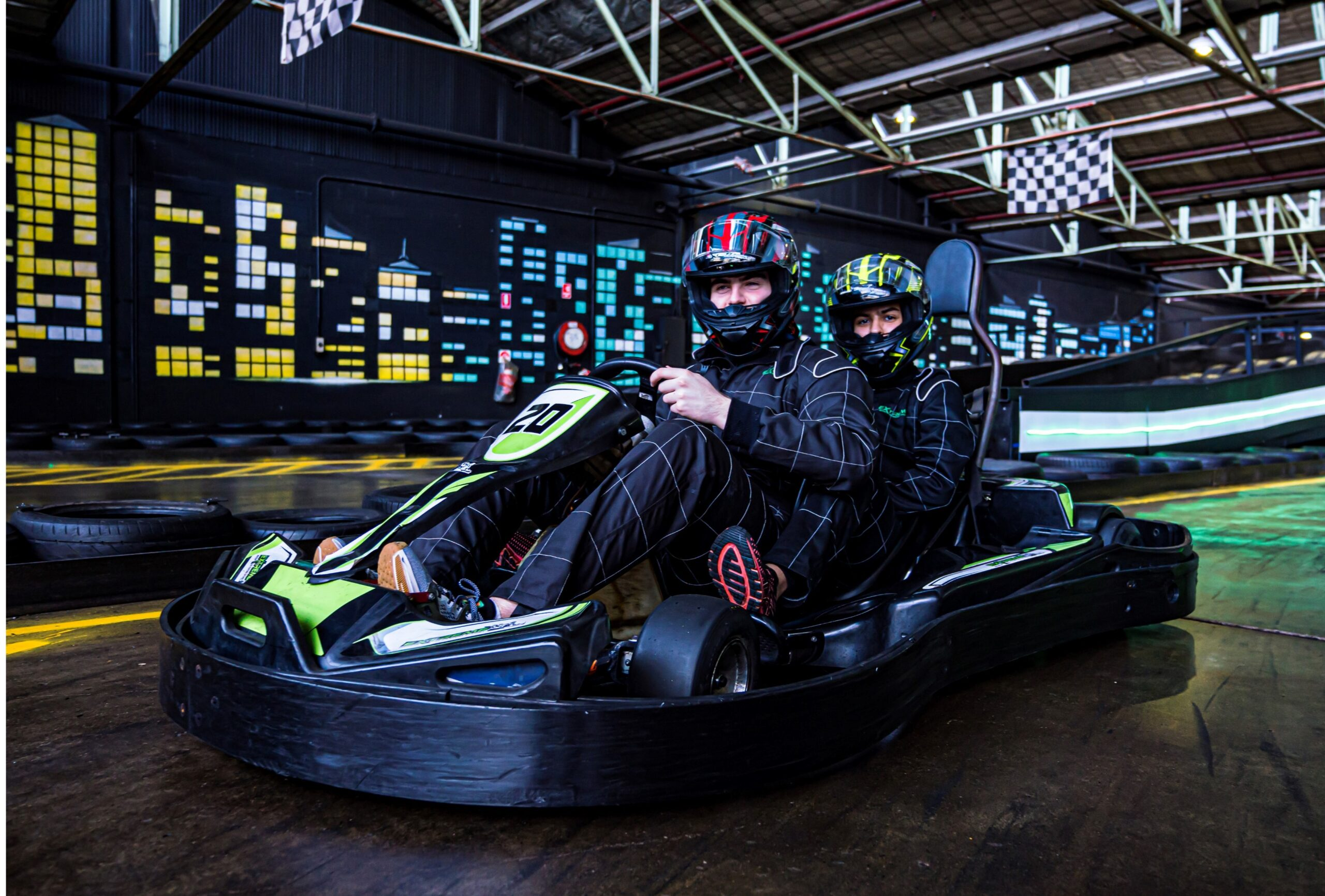 Get Competitive on the Go-Karting Track