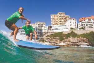 Surf Lesson Down at Bondi Beach