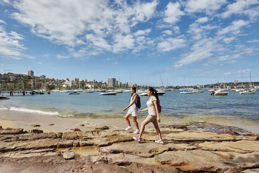 Brisk Stroll From Manly to the Spit