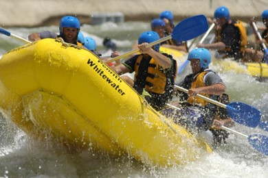 Get the Blood Pumping at Whitewater Rafting