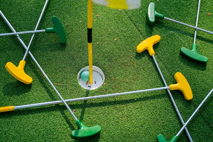 Play a Few Rounds of Putt-Putt