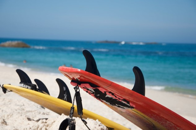 Take a Couple's Surf Lesson